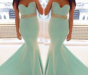 Strapless Mermaid Lo..